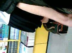 در جوراب ساق بلند سکس پارتی هندی سفید این جوجه او